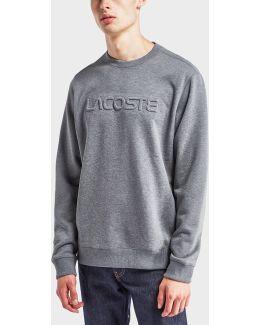 Embossed Logo Sweatshirt