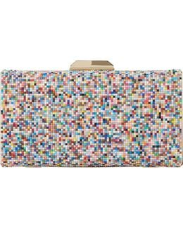 Bonansa Multi-coloured Beaded Clutch Bag
