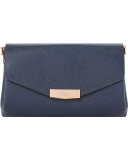 Exie Textured Clutch Bag
