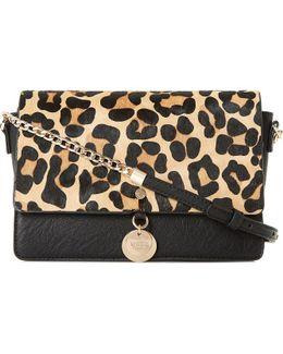 Evania Suede Leather Handbag