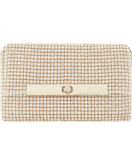 Enya Diamante-embellished Clutch Bag