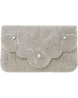 Ekelly Beaded Clutch