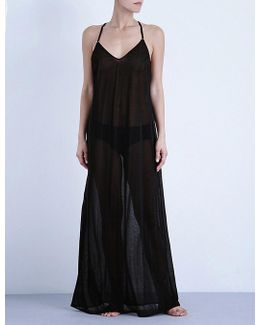 Maxi Sheer Beach Dress