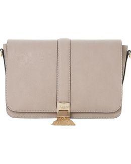 Dinasty Tassel Trim Shoulder Bag