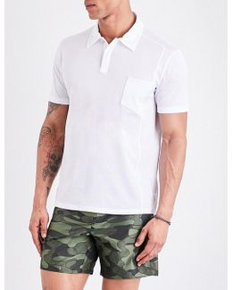 Patch-pocket Cotton-piqué Polo Shirt