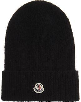 Cable Knit Wool-alpaca Blend Hat