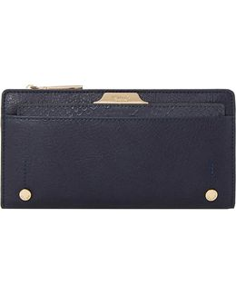 Kerrie Slim Faux Leather Purse