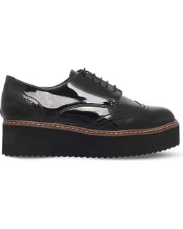Lucid Patent Flatform Shoes