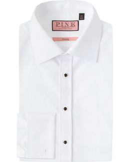 Marcella Evening Slim-fit Cotton Shirt
