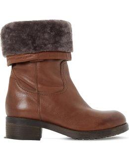 Roderik Leather Calf Boots