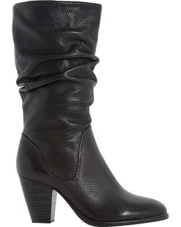 Rossy Leather Calf Boots