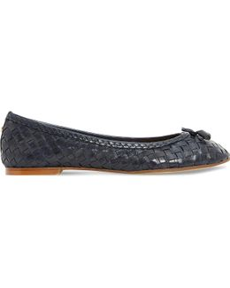 Hove Leather Ballet Flats