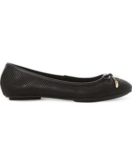 Hero Leather Ballet Flats