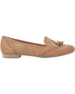 Loki Tassel Leather Loafers