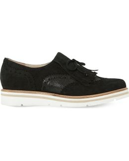 Gravite Fringed Suede Brogues