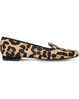 Gracious Leopard-print Loafers