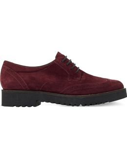 Feean Lace-up Suede Brogues