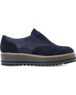 Follow Suede Flatform Shoes