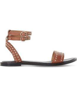 Lagoma Pin Stud Leather Sandals