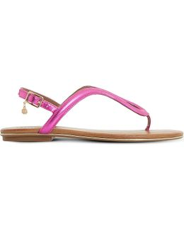 Lexy Loop Patent Sandals