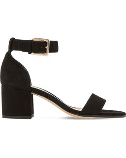 Jaygo Suede Heeled Sandals