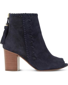 Primrose Suede Ankle Boots