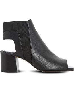 Jericho Leather Ankle Boots