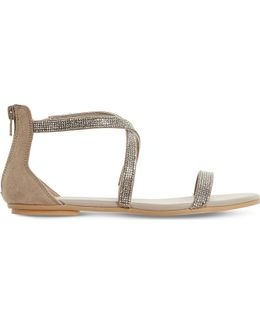 Niftey Cross Strap Sandals