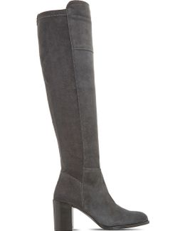 Tommy Over-the-knee Suede Boots