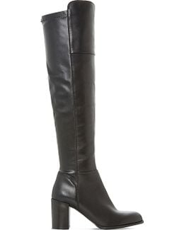 Tommy Leather Over-the-knee Boots