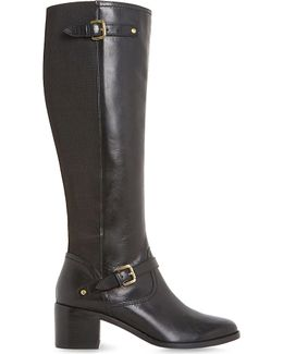 Vivvi Leather Knee-high Boots
