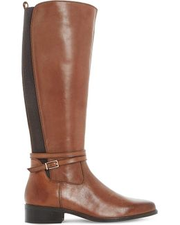 Taro Leather Knee-high Boots