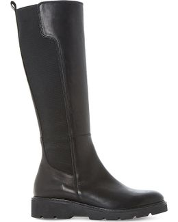 Tula Leather Knee-high Boot