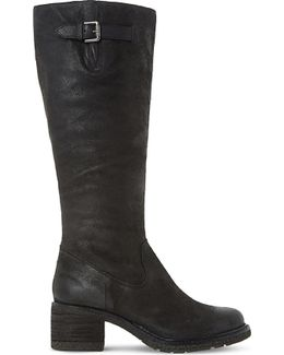 Tedmund Leather Knee-High Boots