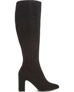 Sandler Knee-high Suede Boots
