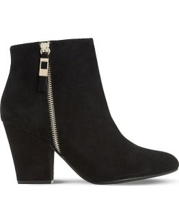 Orley Zipped Suede Boots
