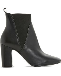 Ohio Leather Heeled Chelsea Boots