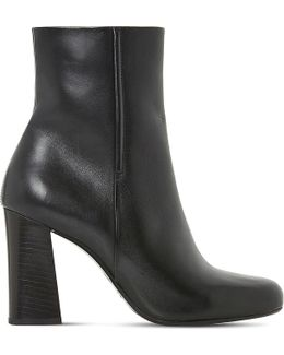 Osmond Leather Ankle Boots