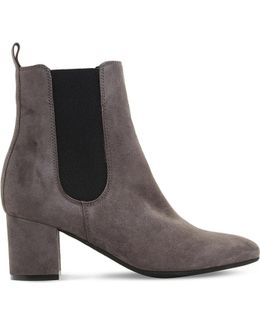 Ola Suede Chelsea Boots