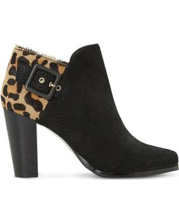 Oaklee Leather Ankle Boots