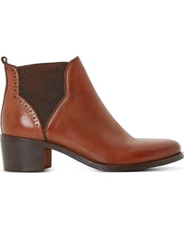 Parnell Leather Ankle Boots