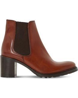 Podrik Leather Chelsea Boots