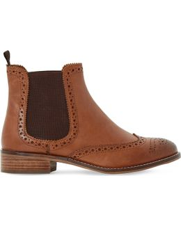 Quentin Leather Chelsea Boots