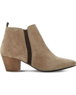 Perdy Suede Ankle Boots