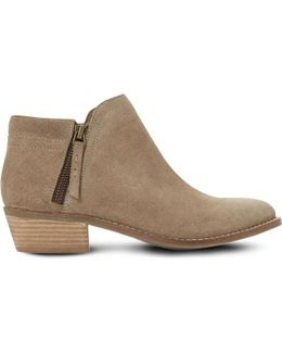 Pollyanna Suede Ankle Boots