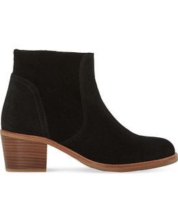 Pearson Suede Ankle Boot