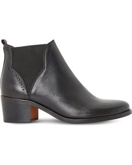Parnell Leather Chelsea Ankle Boots