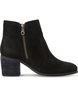 Pryce Leather Ankle Boots
