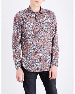 S-nico Regular-fit Floral-print Shirt