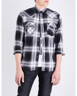 S-east Regular-fit Checked Cotton Shirt